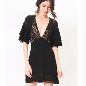 For Love and Lemons Carmine Mini Dress